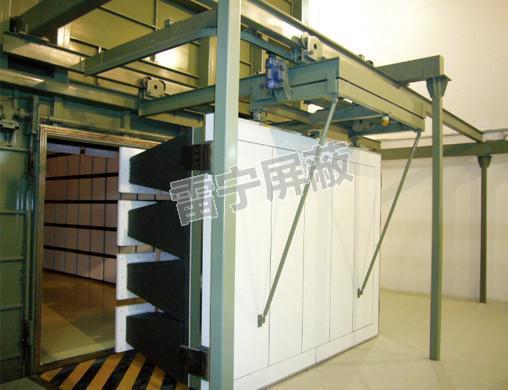 大型悬挂式平移屏蔽门